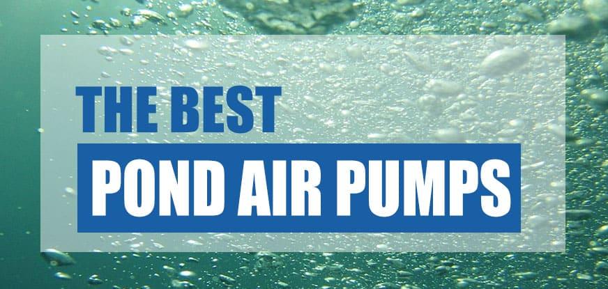 best pond air pump