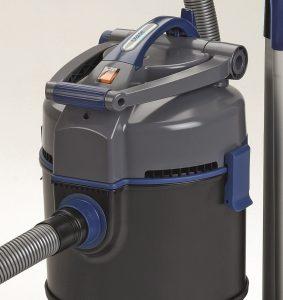 koi pond vacuum capacity
