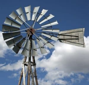 windmill for pond aeration