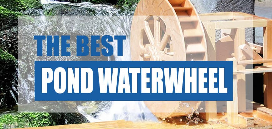 best pond water wheel