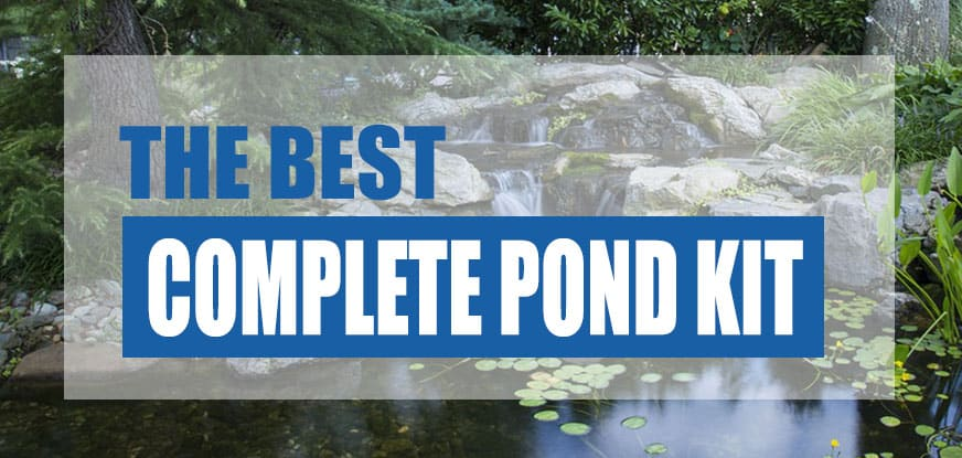 best pond kit with waterfall