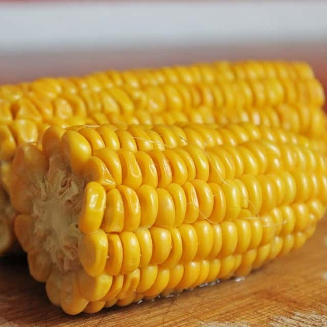 Corn is starchy and hard for koi to digest