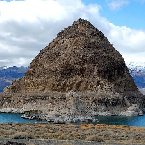 Anaho Island National Wildlife Refuge in Pyramid Lake, Nevada